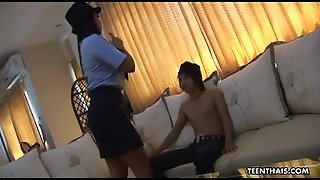 Super Hot Thai Officer Has A Fuck Like No Other