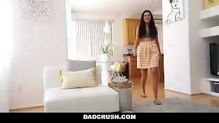 Dadcrush - Stepdaughter Fingered & Fucked By Stepdad