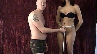 Measuring For A Female Chastity Belt
