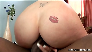 Naughty Blonde Slut Aline Wants To Be A Black Cock Trainer