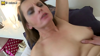 Hairy Mature Mother Gets A Shave And Fuck