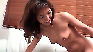 Horny Jap Housewife Banged Naked In Wild Threesome