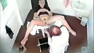 Gyno Checkup Of My Hot Mother-In-Law On Hidden Cam