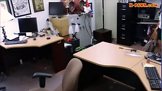 Big Butt Amateur Fucked In The Backroom
