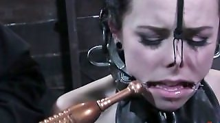 Leather Bondage Slave
