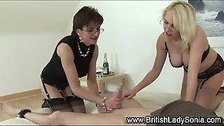 Mistress Lady Sonia Watches Fuck