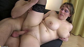 Busty Amateur Getting Fucked