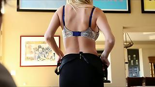 A Strip Tease Leads To A Fantastic Fuck