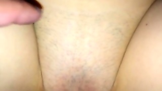 Shaved Pussy Missionary Sex And Creampie