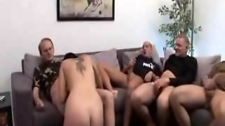 Old Group Man Fucking 1 Bitch