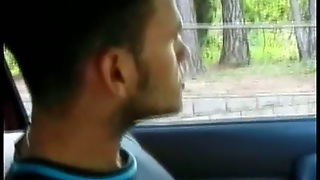 Black Butthole Licking In The Car