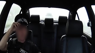 Real Uk Babe Fucked From Behind By Officer