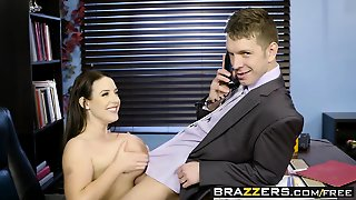 Brazzers - Big Tits At Work - Angela White Ma