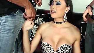 Venus Lux Sucks And Fucks 2 Cocks