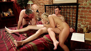 Angel Fucked By Her Husband And Friend