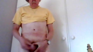 Wank, Pubic Hair, Cock, Naked, Penis, Eight Inches Cock, Balls, Masturbate, Mature