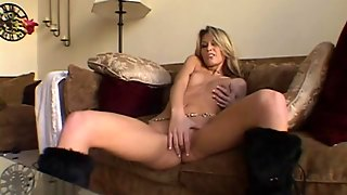 Horny Milf Fingers Her Hot Ass And Pussy In Masturbating Solo Scene