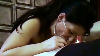 Brunette Blowjob Lady