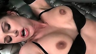 Hardcore Sex With Seductive Milf In Lingerie And Teen Stud