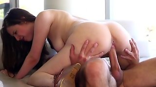 Teen Gets Punished By Her Step Daddy