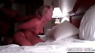 Creampie For Blonde Wife Cuckold