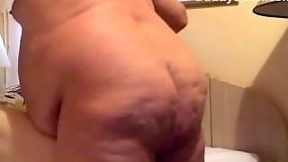 Bareback Daddy Chubby Fucking An Anon Hookup Met On Daddydater