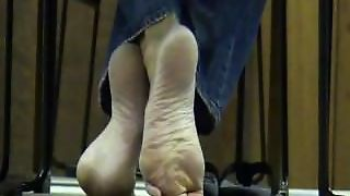Fetish, Compilation, College, Dipping, Toes, Candid, Foot Fetish, Kink, Arches, Shoeplay, Feet