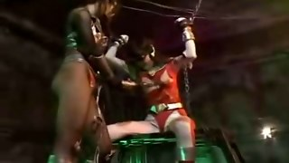 Captive Super Heroines Get Fucked!