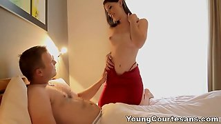 Young Courtesans - A Sex Date Teeny Gets Paid For