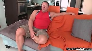 Muscled Gay Bear Sucks Large Black Gay Tube And Gets Tiny Buttho