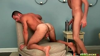 Hairy Asshole Licked And Fucked From Behind