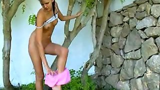 Outdoor Watersports With Russian Teen