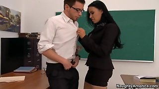 School Fuck Of Dane Cross And Vanilla Deville