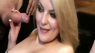 Flexi Teen Gymnast In Real Gangbang