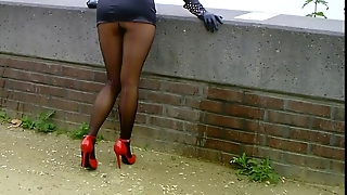 Gloves, Foot Fetish, Stockings Foot, Heels Stockings, Stockings And Heels, Heels Femdom, Foot Fetish Heels, Fem Dom Heels