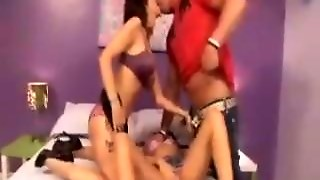 Milf In A Threesome With A Hot Couple