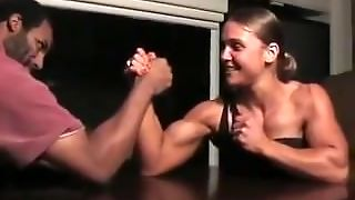 Mixed Arm Wrestle
