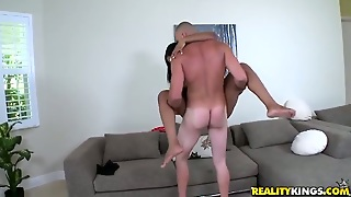 Piercings Jmac With Big Butt And Clean Bush Gets Her Wet