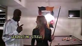 Pornstars, Steele, Red Heads, Fun, I Nterracial, Lex Ington Steele, Pornstars Interracial