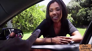 Tiffany Nunez Offers Blowjob For A Free Ride Home