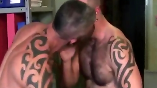 Gay Studs In Lust For Each Other