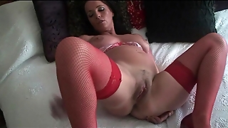 Marlyn Red Stocking Babe