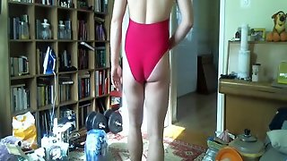 Hot Pink One Piece Swimsuit My Sister