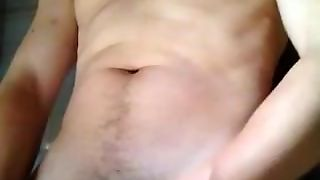 Solo Male, Lean Swimmer, Gay, College, Moaning Pleasure