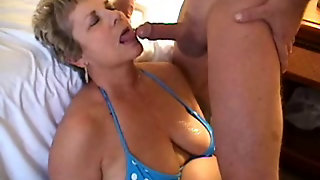 Blowing A Load On Milf's Face