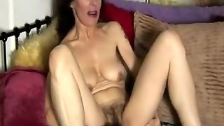 Mature Amateur Has A Hairy Pussy