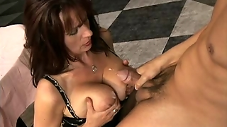 Cute Mature - Saggy Tits - Hairy Pussy