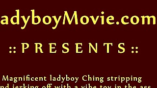 Ladyboy Ching Toying N Jekring Off