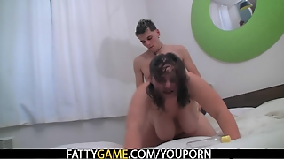 Chubby Bbw Doggystyled After Hot Massage