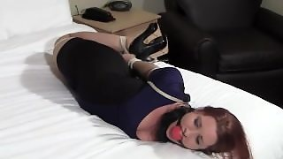 Hogtied Woman